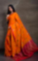 Tussar Sari, Tussar Silk Sari