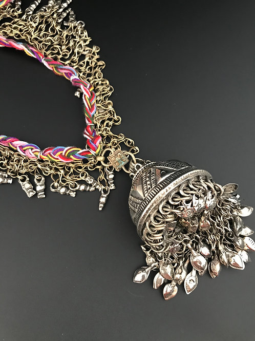 Afghan Bell Long Necklace