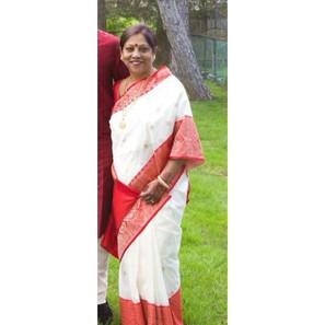 Bengal Looms Client Diaries: Ritali di looking absolutely elegant in her Pure Katan Silk Banarasi from Bengal Looms.483341966423926_31457519807465
