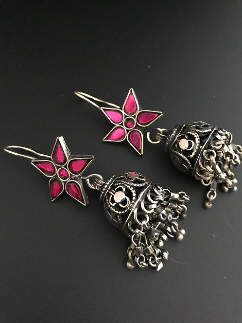 Handmade Afghan Jhumka Earrings