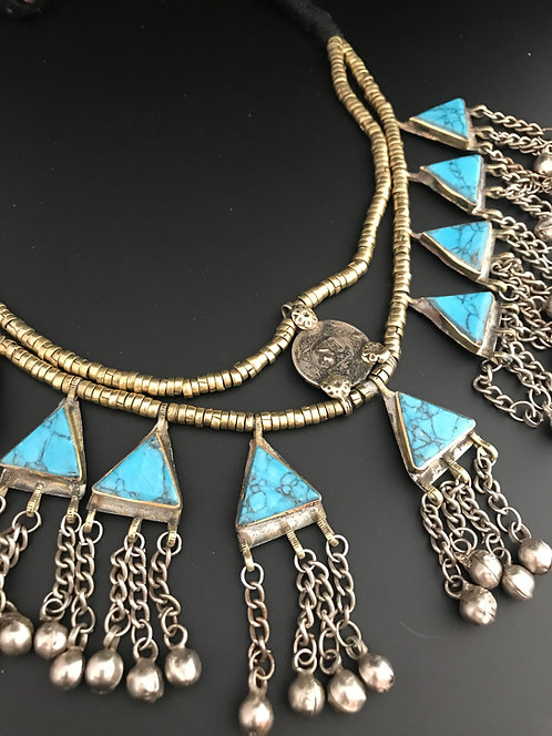 Handmade Tribal Stone Neckwear