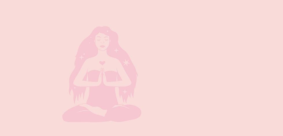 Mystic Woman Meditating