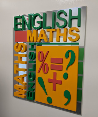 English and Maths Department
