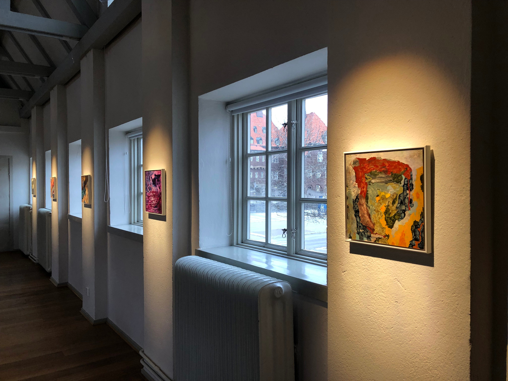 Solo exhibition at Ahlbergshallen, november 2019.