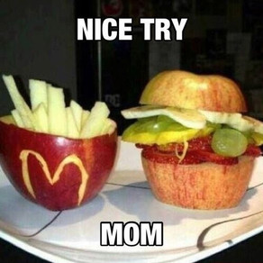 Seriously .... chocolate and fries!