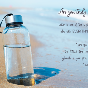 Do you really understand the importance of hydration?