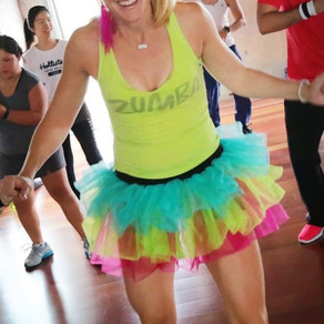 Me a Zumba Instructor - You're Funny!