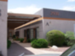 The outside of the office of Simply Psychology LLC. It is located in building letter A, number 2930, in Phoenix, Arizona. An excellent resource for child psychology, parent coaching.