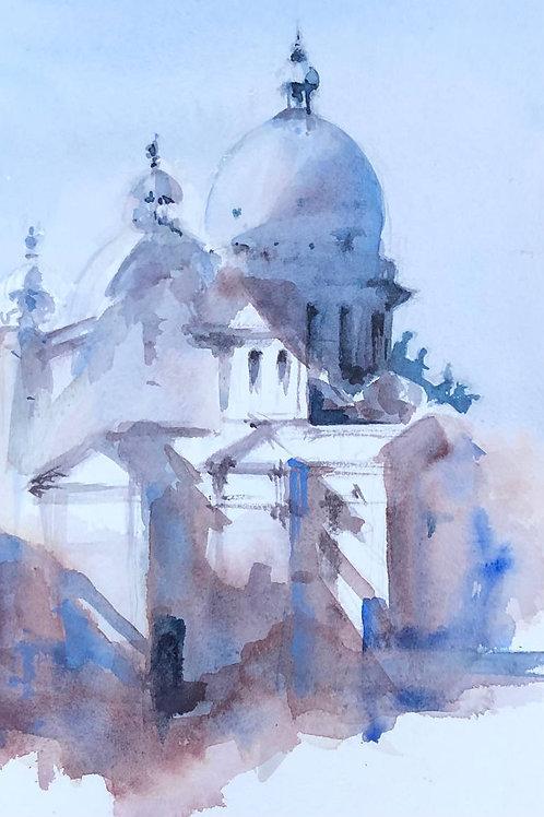Basilique San Giorgio Maggiore de Venise - 24X16 cm