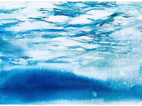 Entre deux eaux - 35x24 cm
