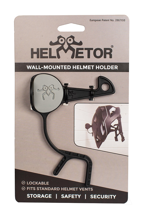 Wall-mounted Helmetor® grey