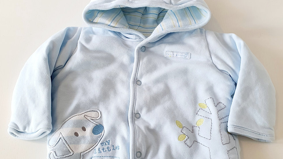 3-6 Month M&S Jacket with hood (Pre-loved)