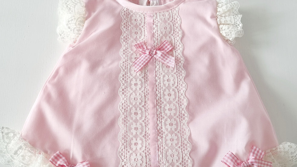 0-3 Month Spanish Style Dress & Knickers (New with out tags)