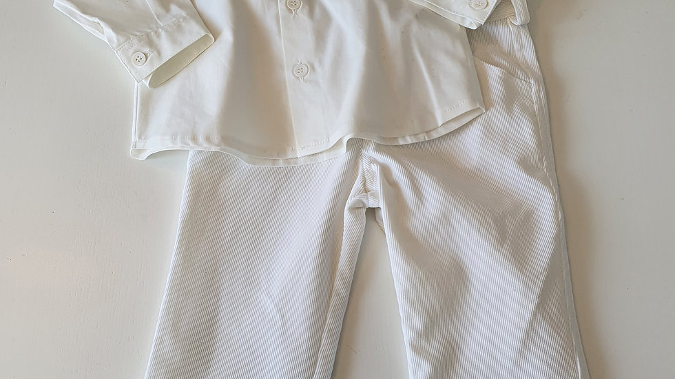 12 Month Ciccimo Shirt & Cord Trousers (New with tags)