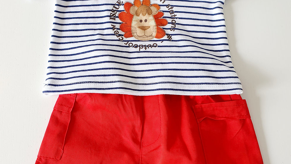 0-3 Month Baby C Shorts & T-shirt set (New with tags)
