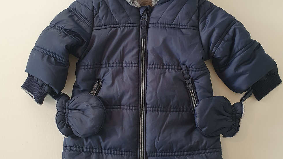 0-3m George Snowsuit (New without tags)