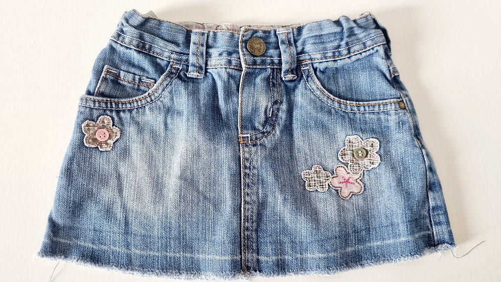 2-3 Years Mothercare Denim Skirt ( Pre-loved)