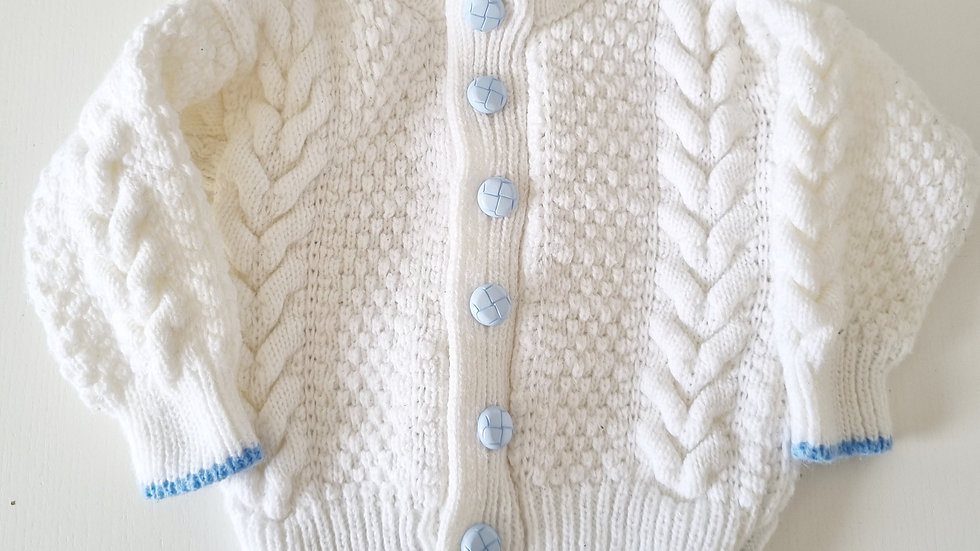 3-6  Month  Knitted  Cardigan (Pre-loved)