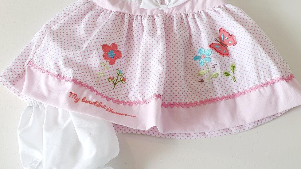 0-3 Month  Nursery Time Dress & Knickers (Pre-loved)