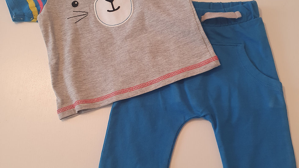 3-6 Month TU Joggers & T-shirt (Pre-loved)