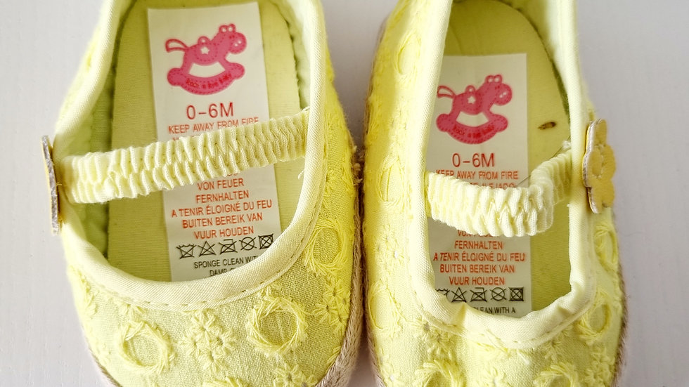 0-6 Month  Rock a  Bye  Baby Shoes (Pre-loved)