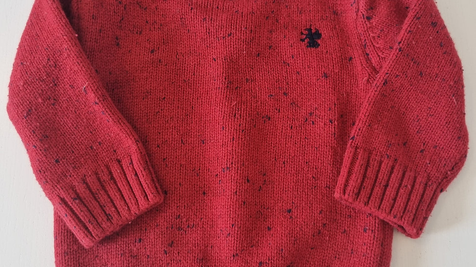 3-6 Month Next  Jumper with shirt (Pre-loved)