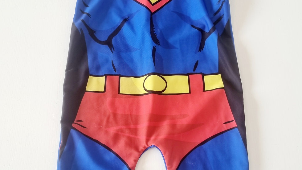 2-3 Years Superman All In one Swimsuit ( Pre-loved)