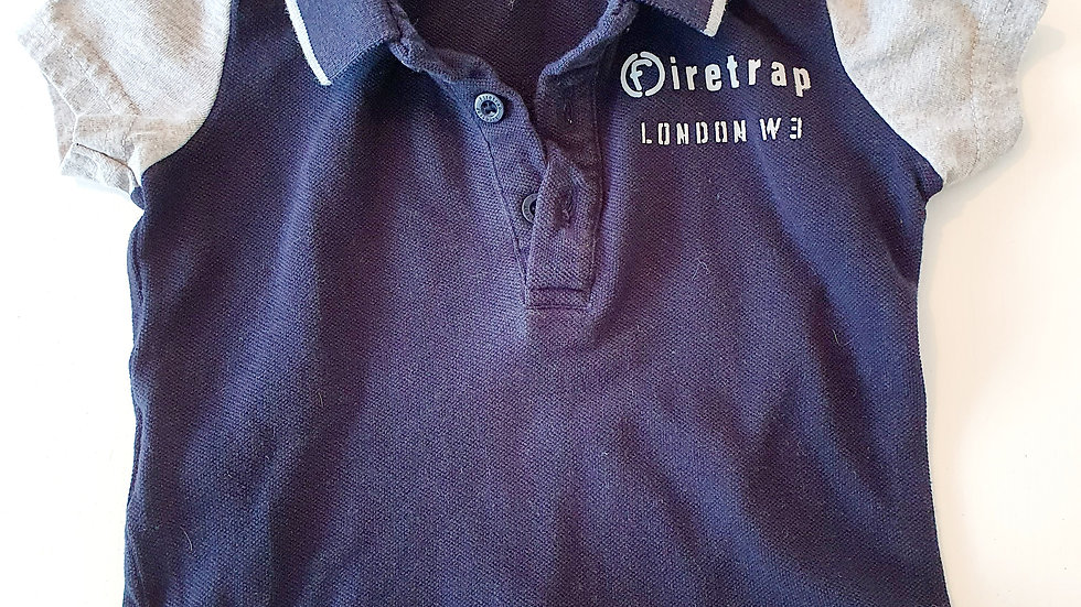 0-6  Month Fire trap T-shirt (Pre-loved)