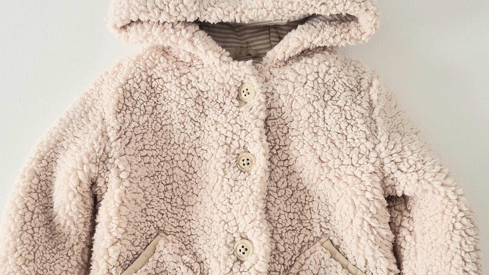 3-6m George Teddy Coat (Preloved)
