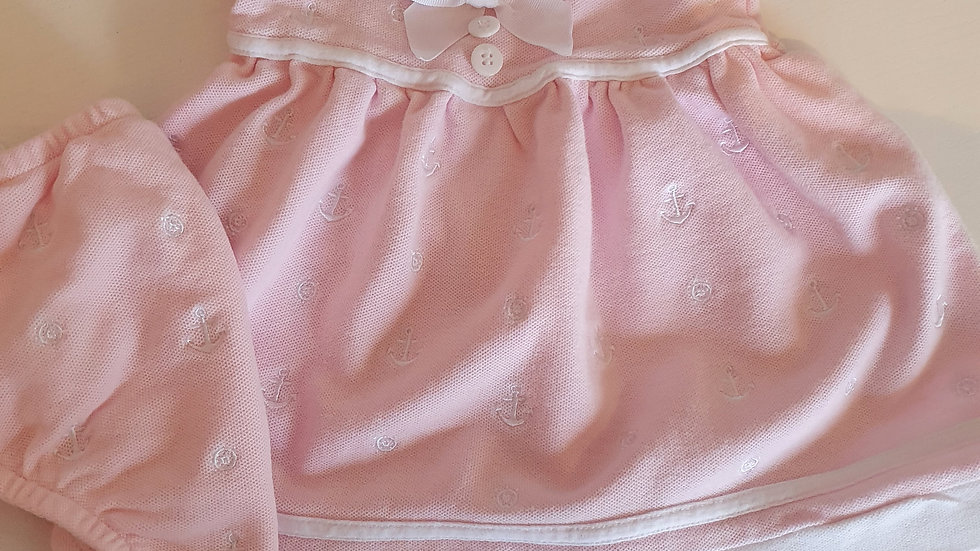 3-6 Month Spanish Sailor Dress & Knickers (Pre-loved)