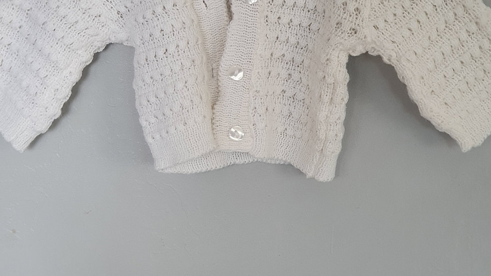 3-6 Month Little Star Cardigan (Pre-loved)