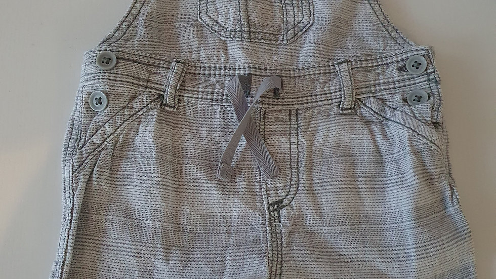 0-3 Month George Short dungarees (Pre-loved)