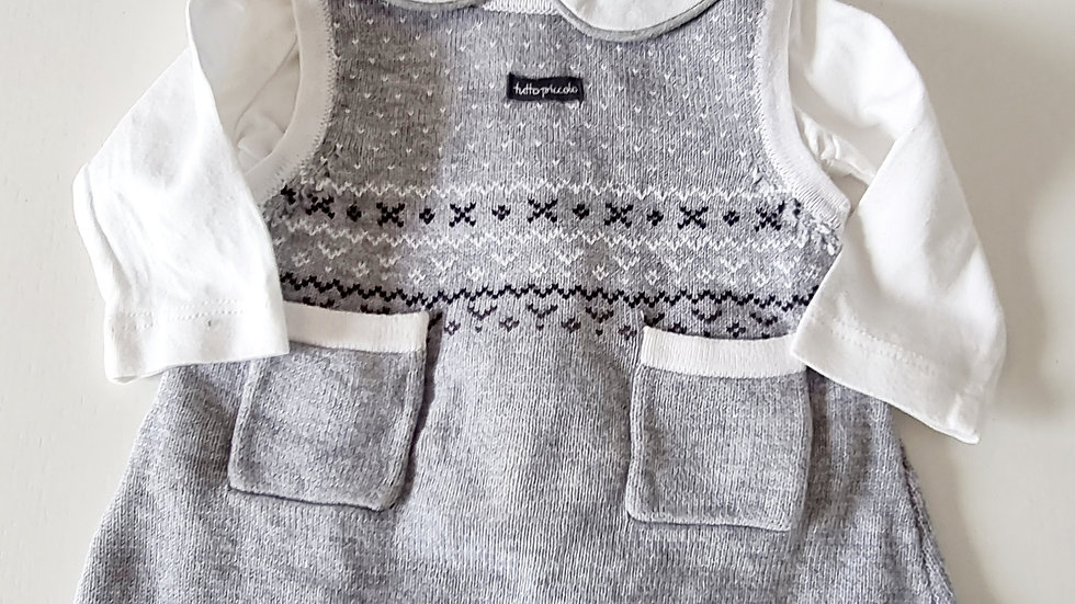 Size 0 (Tiny Baby) Tutto Piccolo  Dress & Top (Pre-loved)