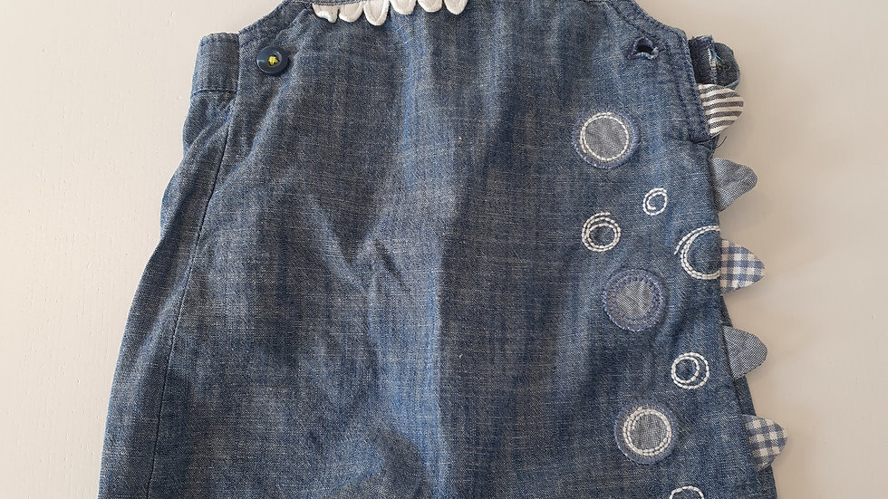 3-6  Month  George  Dungarees (Pre-loved)