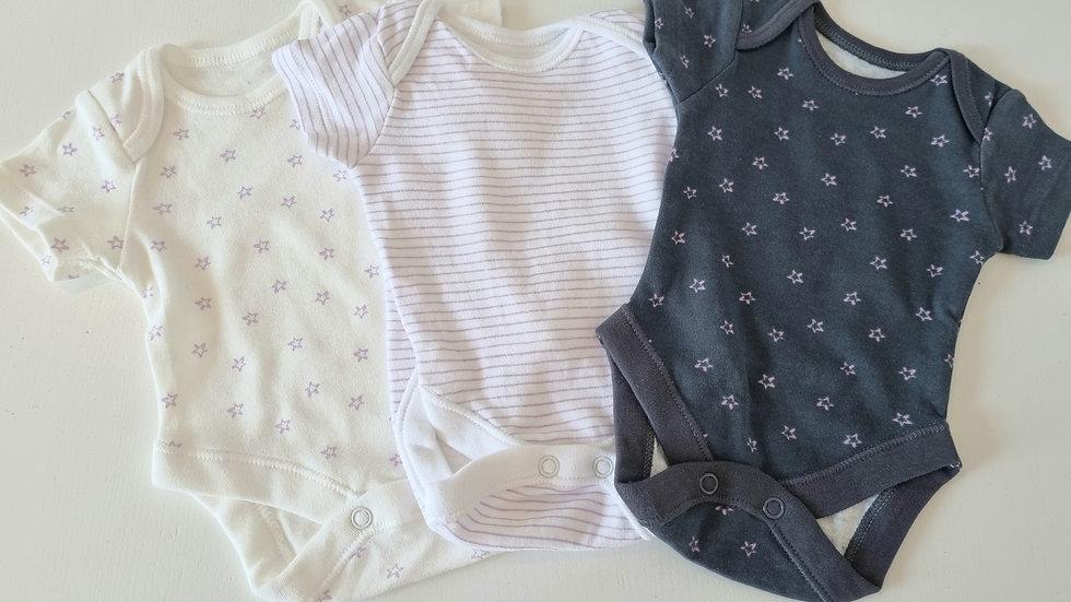 X3 Tiny Baby George Vests (Preloved)