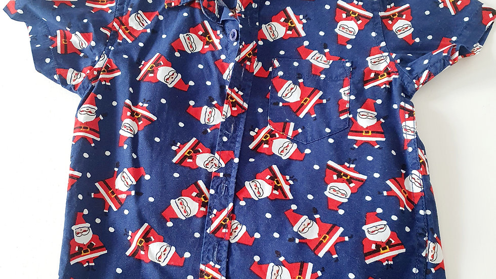 2-3 Years M&Co Christmas  Shirt (Pre-loved)