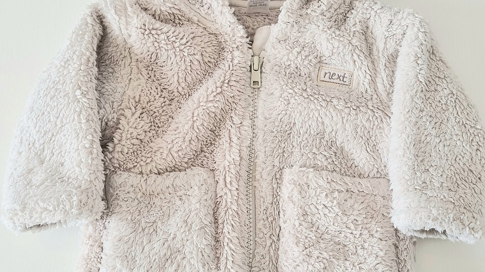 3-6m Next Fluffy Jacket (Preloved)