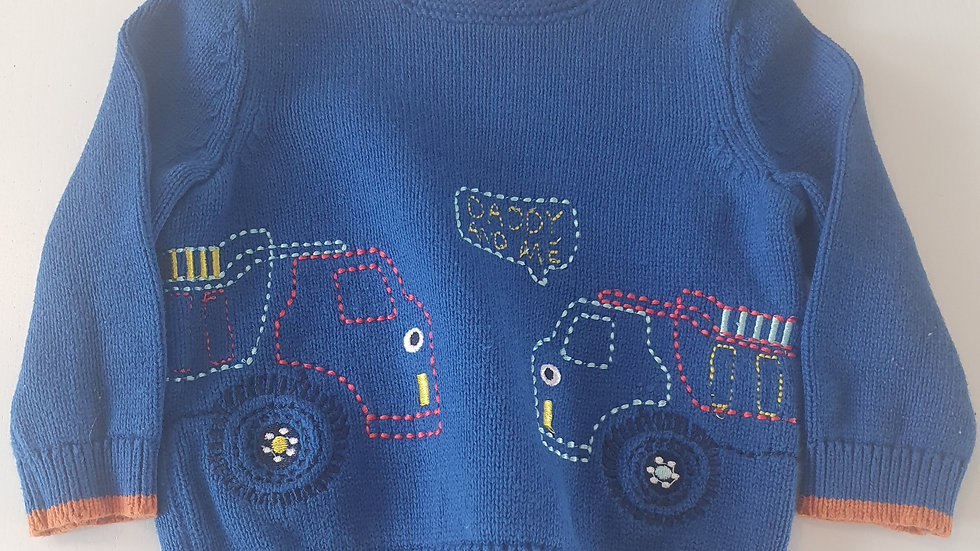 3-6 Month Bluezoo  Jumper ( Pre-loved)