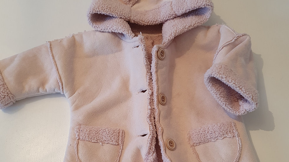 3-6  Month  Matalan Coat with Hood (Pre-loved)