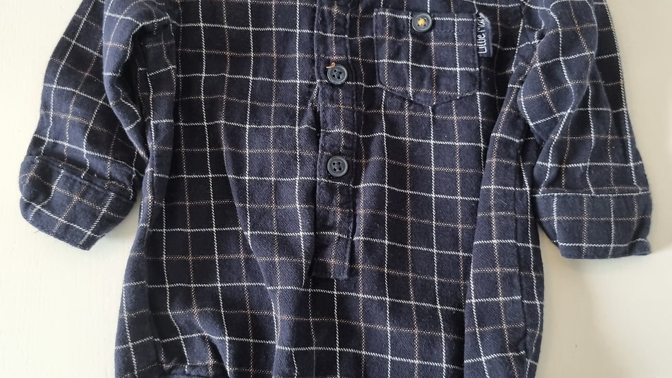 3-6 Month Nutmeg Vest Shirt (Pre-loved)