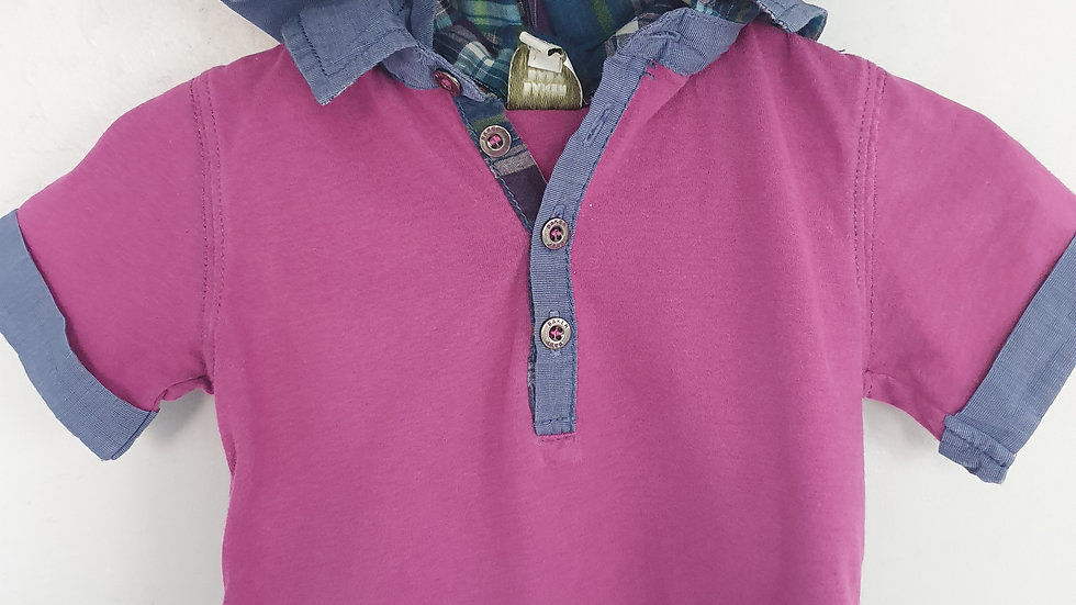 3-6 Month Ted Baker Top with hood (Pre-loved)