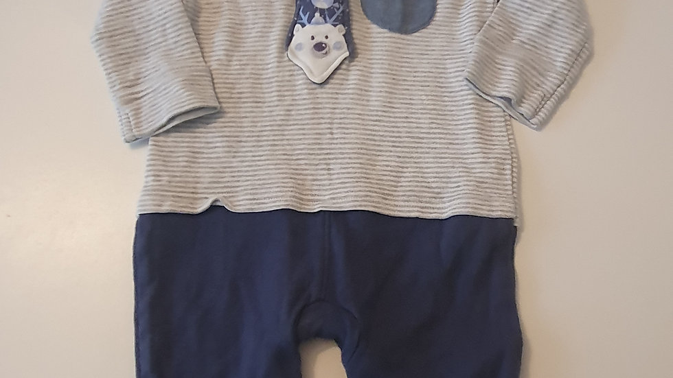 3-6  Month  George All in one suit (Pre-loved)