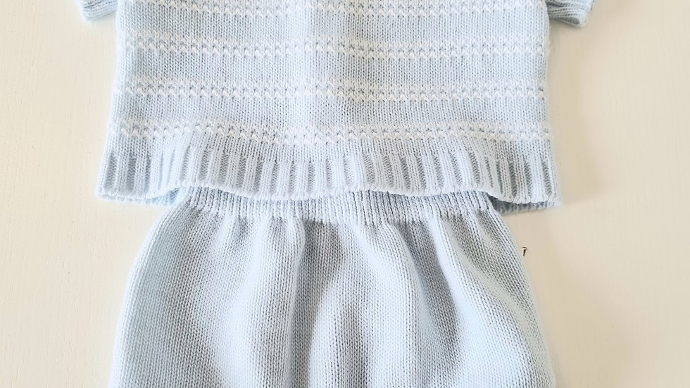 0-3m Pex Knitted Outfit (Preloved)