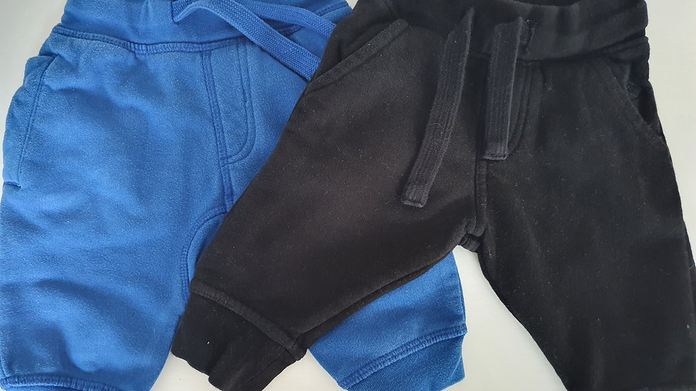 3-6 Month Next 2 pack Joggers (Pre-loved)