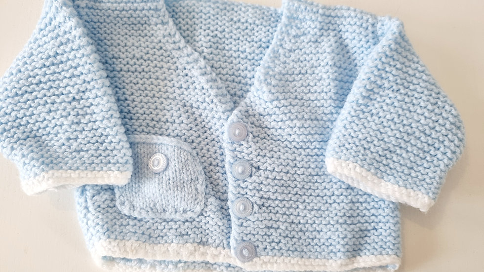0-3 Month Knitted  Cardigan ( Pre-loved)