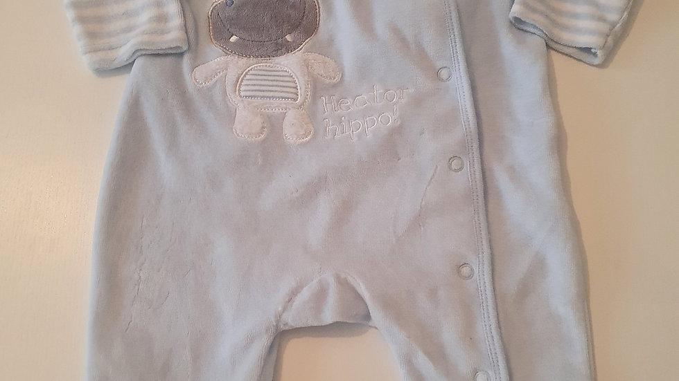 3-6 Month Early Days Velvet Babygrow (Pre-loved)
