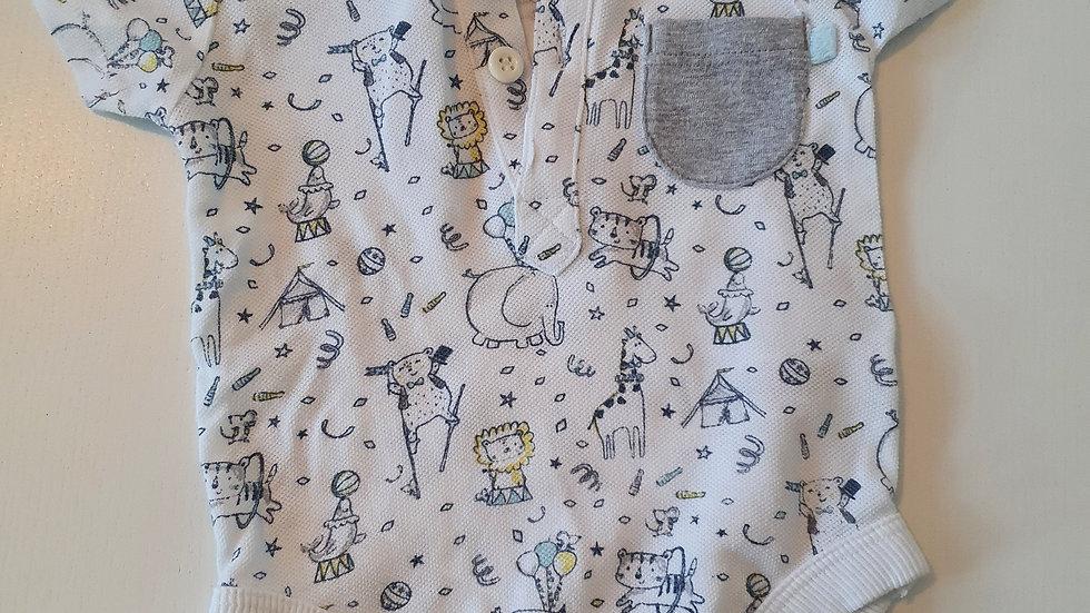 3-6 Month George T-shirt vest (Pre-loved)