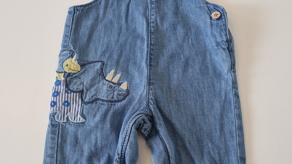 3-6 Month M&S  Dungarees (Pre-loved)