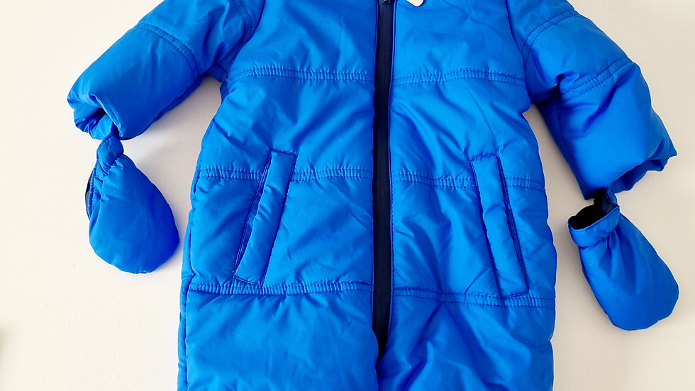 3-6 Month George  Snowsuit  with Gloves (Pre-loved)