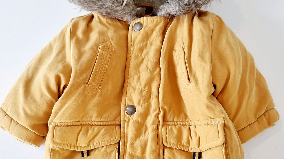 0-3 Month George Coat with hood ( Pre-loved)